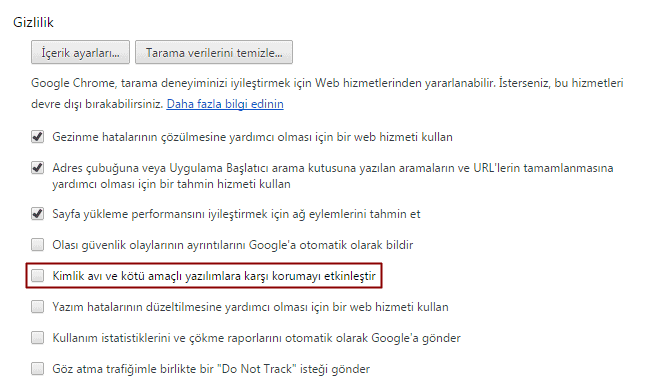 google-chrome-gizlilik