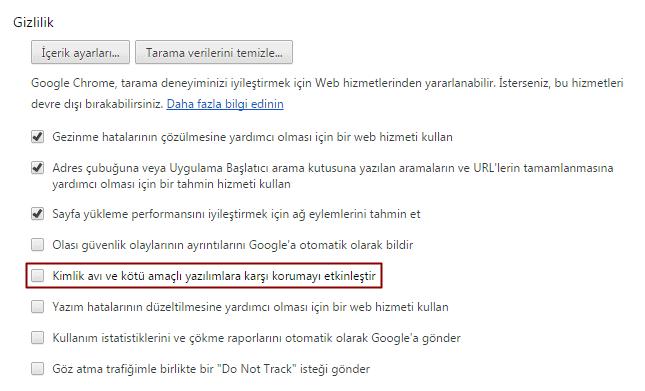 google-chrome-gizlilik